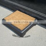 Half Step With Coir Mat for elderly, Outdoor Step as elderly helper, outdoor step makes stepping safer for elderly