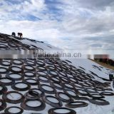 UV-stabilized oxygen barrier silage covering film