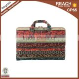 LP004 Wholesale China Supplier Factory Fashional Fancy Canvas Laptop Bag For Computer Women