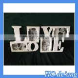 Hogift love photo frame /beautiful printing paper picture frame /custom paper photo frame