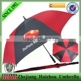 promotional windproof advertising golf rain umbrella