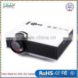New UC40 projector Mini Pico portable Projector AV VGA A/V USB & SD with VGA Projector projetor beamer