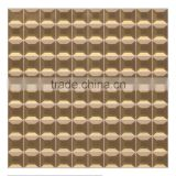 Diamond Shaped Beveled Glass Mirror Mosaic Decorative Wall Tile