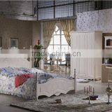 french style bedroom set furniture /french children studyroom single bed design H202