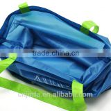tnt non woven, recycle non woven fabric Material and tote bags Style folding grocery bag