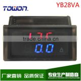 INQUIRY ABOUT Double Display YB28VA DC Digital 10A Voltmeter Ammeter Digital DC Voltage Ammeter