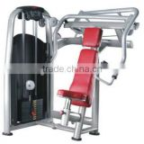 Gym equipment incline chest press hammer strength