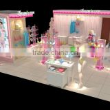 clothing store display furniture garment showcase brand underwear shop kiosk display showcase design