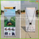 Strong Tighten The Screws X Banner ,Advertising X Banner Stand