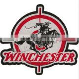 Custom motorcycle patches high quality customize woven patches low price custom woven patches Iron on