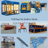 QT6-15 Shandong cement hollow block machine / automatic plaster block making machine price list