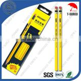 12 Pcs 7 Inches HB Lead Yellow Pencil Set