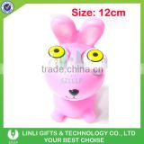 Novelty aninal eye pop out rabbit toy gift