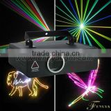 RGB Full Color 2W RGB Animation laser lighting Professional Stage Projector Laser Show Light
