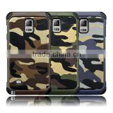 Superior quality camouflage army leather mobile phone case cover for Galaxy A7
