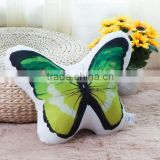 Butterfly cute design 3d digital seat ,car ,bedding cushion covers