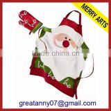 Alibabba china supplier christmas funny kids aprons and chef hats wholesale