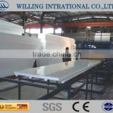 eps foam board roll forming machine