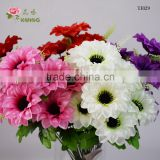 simulation mum funeral flower big size head 18cm diameter
