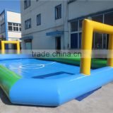 Small Party Sports Equipment Soccer Football Field inflatable rugby field