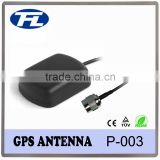 Magnetic GPS Active Antenna TNC male plug straight 1575.42MHz with RG174 3m cable