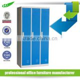 Change room 3 door swimming pool lockers/hot sale cheap 3 door gym locker