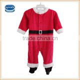 (H4581) Red nova children garments fresh stock Christmas fleece clothes sets for kids