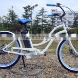 48v 500w alloy aluminum e beach bike electric lowrider bicycle hot sale