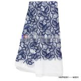 Polyester Mesh Fabric With Fresh Mint Leaves Embroidery Digital Printing Fabric/Apparel Accessories And Fabric