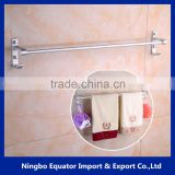 china Contemporary style single wall hung towel rack/towel shelf/space aluminum material 70cm long