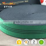 Designated elastic webbing band & Furniture sofa elastic webbing & elastic webbing for sale