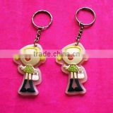 all kinds of customized pvc keychain