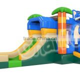 2016 New Design Best quality inflatable backyard bouncers,inflatable bouncers hawaiiwar bouncers, elephant castle