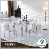 Hot selling dining room furniture round rotating dining table