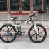 "Pu Hong 2016 newest wholesale AM bicycle 26"" wheels high carbon steel frame 21 speed all in one aluminum alloy rim AM bike"
