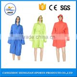 2015 hot sale high quality safety comfortable hooded long microfiber bathrobe online shopping