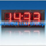 outdoor led clock time date temperature sign,custom made led signs water heater temperature led display led temperature displaY