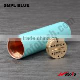 Wotofo AMOD SMPL mod clone Mod Clone smooth button mech mod SMPL Clone cheap mechanical mod SMPL e cigarette starter kit 2015
