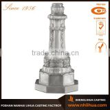 A038 Exquisite Cast Aluminum Light Pole Base Plate
