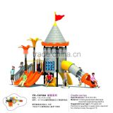 Slide Set Of Outdoor Playground Amusement Park Equipment