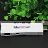 Ultrasmall Meegopad Meego T01 Windows8.1 mini pc dongle Windows TV stick Wintel box Windows8.1&Android4.4 dual boot Smart TV box