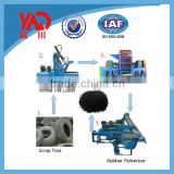 Waste Tyre Recycling Line / Rubber Powder Making Machine / Rubber Sheet Making Machine