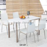 Modern room furniture Superior wood chair Sturdy dinning table and chairs CA169