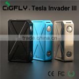2016 new arrival Tesla Invader III Box Mod Invader 3 Electronic Cigarette box from cigfly