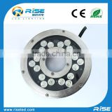 IP68 waterproof led lights for fountains DMX control 54W high poqer fountain light