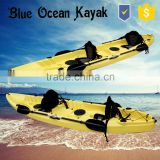 Blue Ocean 2015 hot sale May style 2 person fishing kayak/stable 2 person fishing kayak/tour 2 person fishing kayak