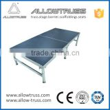 Suitable for indoor and outdoor high quarlity performances mobile stage/portable stage platform for sale