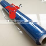 Inquiry about super clear soft light blue PVC film for bag