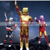 COSPLAY anime clothing male children costumes muscle iron man costumes Halloween party clothing