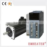 220V 130 seires 1.57kW 7.5N.m 2000RPM AC servo motor and drive system free match with encoder cables